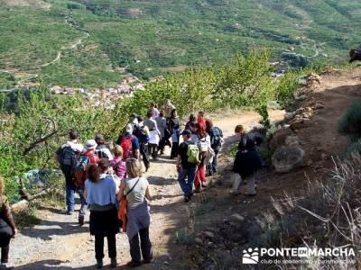 Valle del Jerte - Cascada de los Nogaledas; viajes marzo; revista senderismo